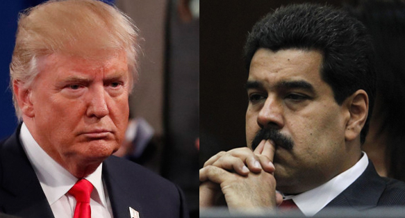Trump Rules Out Talks With Venezuela's Maduro Until 'Democracy Restored'
