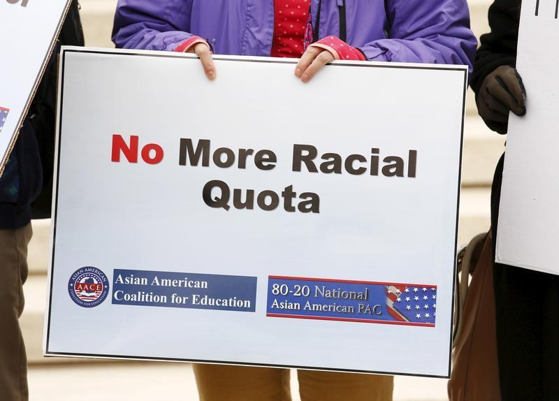 an argument against affirmative action in our society President trump's justice department has decided to launch a project to identify and then sue universities that they deem to have affirmative action policies that discriminate against whites in.