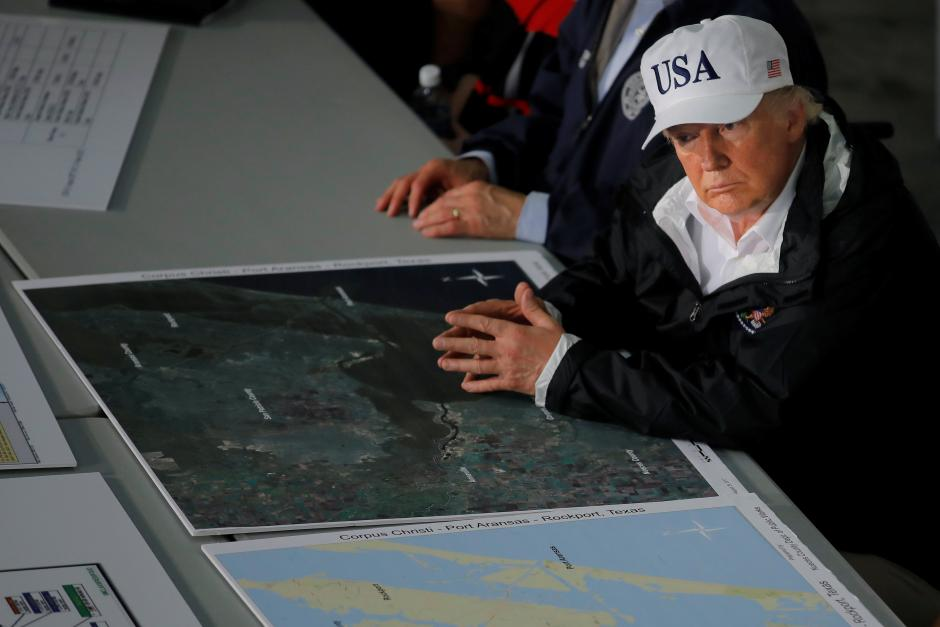 Trump to donate $1 million for Texas recovery