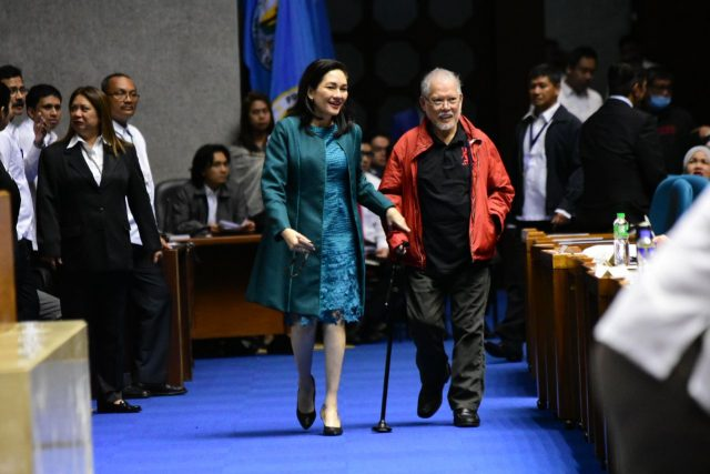 Akbayan Senator Risa Hontiveros