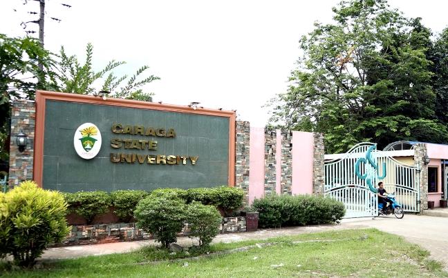 Caraga State U entrance
