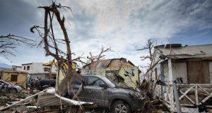 Aftermath of Hurricane Irma Carribean