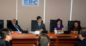 File photo ERC commissioners' meeting.