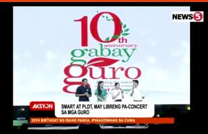 Gabay Guro concert
