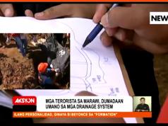 Marawi drainage system trace