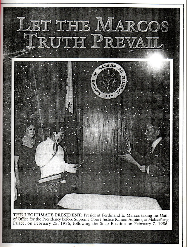 Marcos-truth001-1 - Scammers sell Marcos 'legacy' to poor Pinoys - Talk of the Town