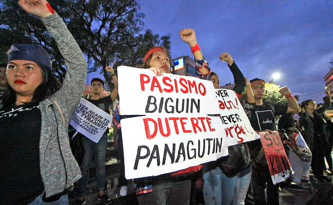 Sept21 Protest in Baguio