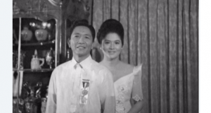 The Marcos couple