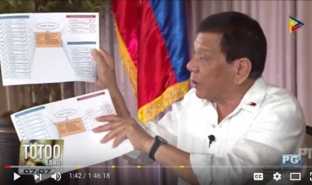 Duterte Trillanes bank accounts