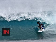 Indon surfer, Cloud 9 Siargao