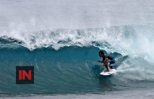 Indon surfer, Cloud 9 Siargao