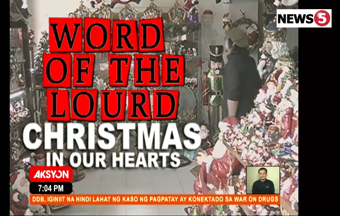 Christmas In Our Hearts.Word Of The Lourd Christmas In Our Hearts Interaksyon