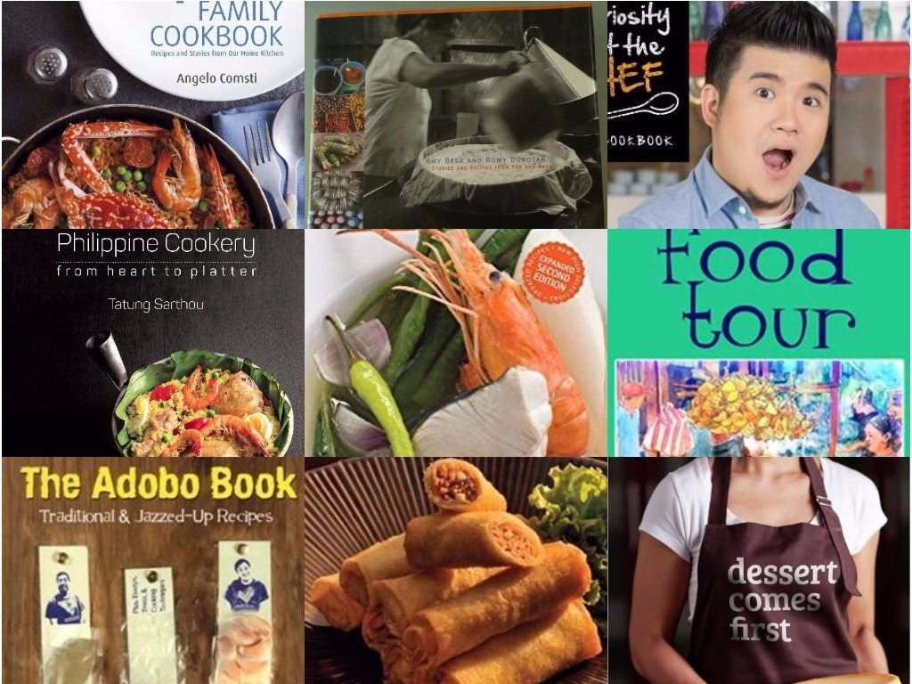 9 bestselling Pinoy food books to grab at the 38th Manila Int'l Book