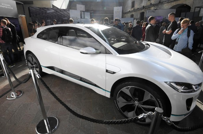 Jaguar unveils its plan for an electric Future