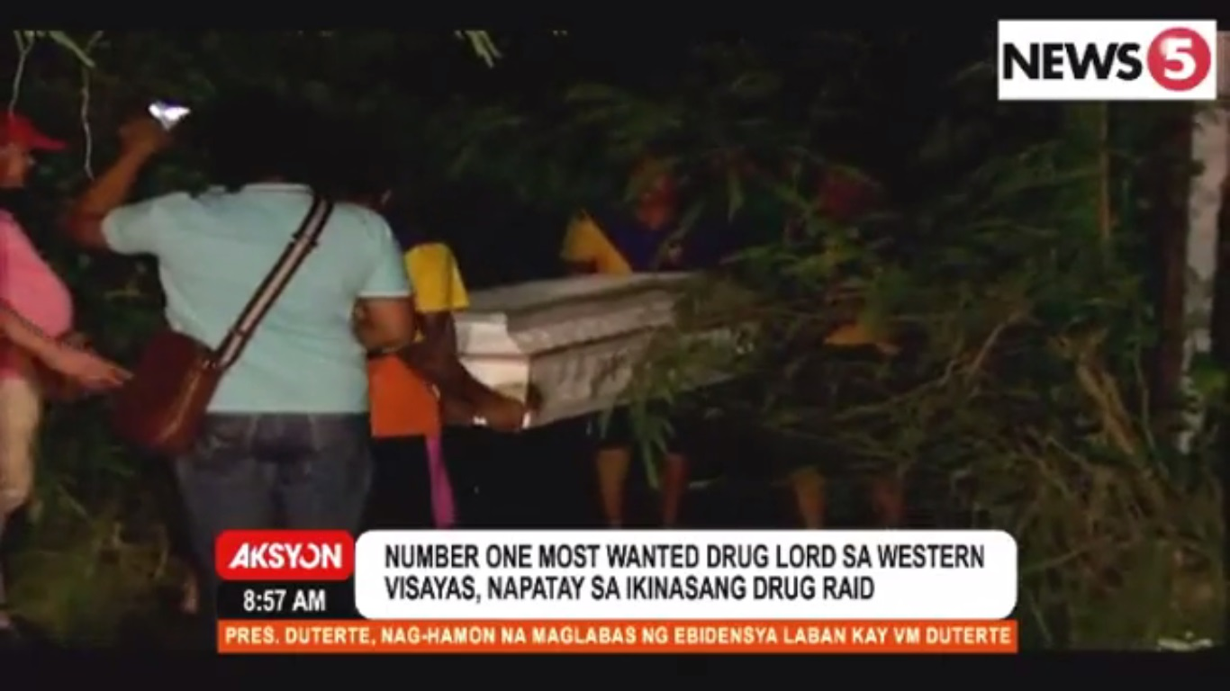 Iloilo's 'most wanted drug personality' killed in police raid