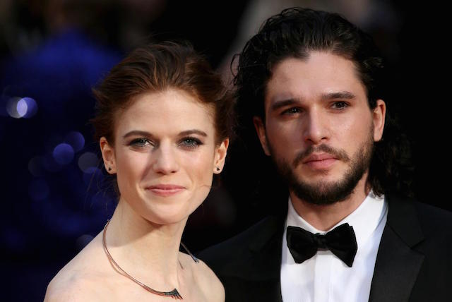 Game of Thrones actors Kit Harington and Rose Leslie engaged