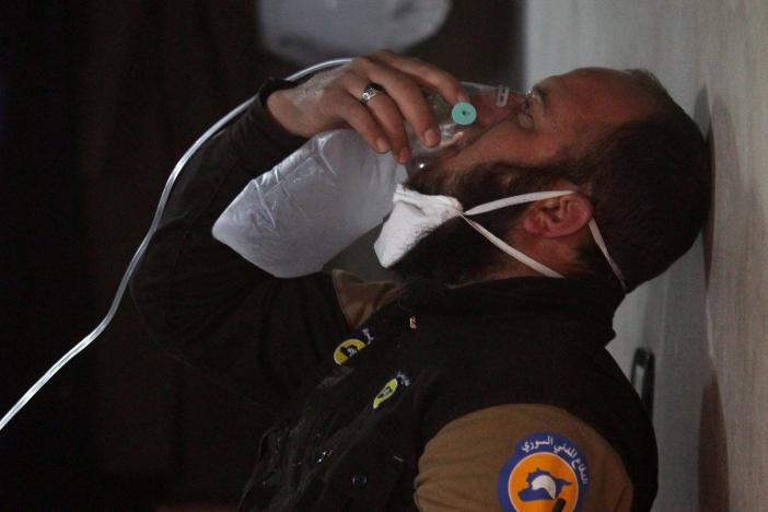 Syria govt behind gas attack in April