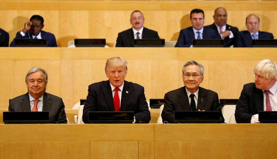 Trump supports UN focus on people and outcomes