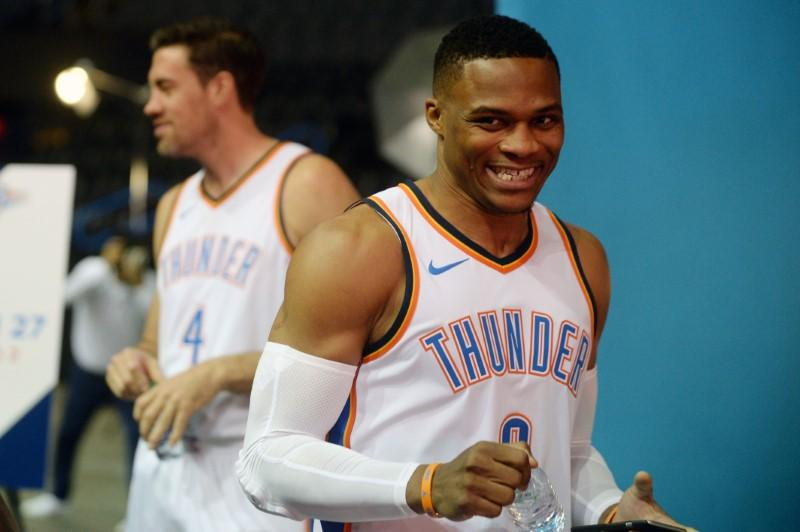 Russell Westbrook's Thunder extension reportedly most lucrative in National Basketball Association  history