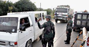 utuan City police checkpoint