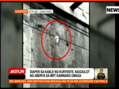 Diaper_MRT_power_line_News5grab