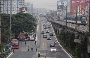 EDSA traffic flow
