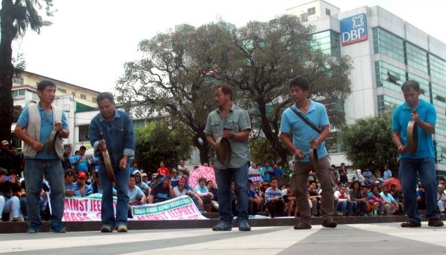 Jeepney protest Baguio City