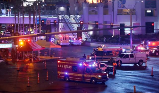 Las Vegas rescue, emergency response