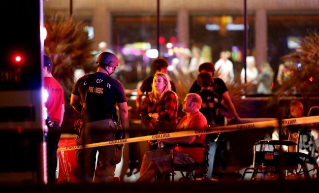 Las Vegas mass shooting medical staging station