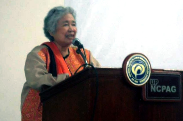 Leonor_Briones_speaks_at_NCPAG