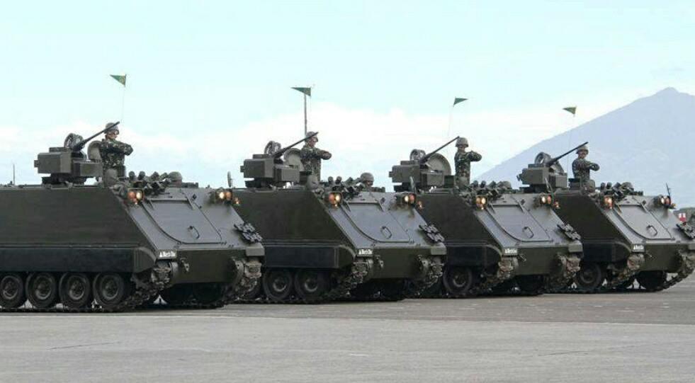 M113 APC with Elbit RCWS