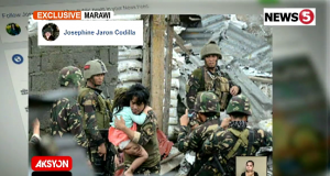 Scout Ranger Capt Jeffrey Buada saves child hostage