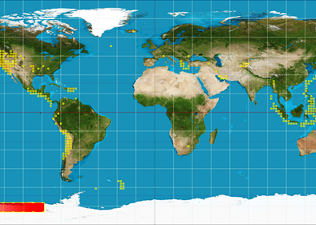 Big world map with locations of earthquakes tectonic plate scientists predict more big earthquakes in 2018 interaksyon on tectonic plate boundaries world map gumiabroncs Images