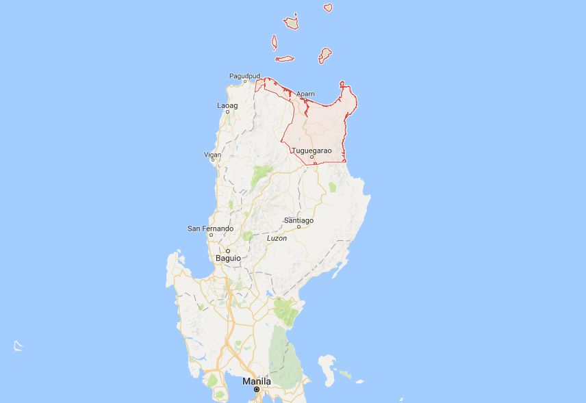 Cagayan Philippines Map.Tuesday Classes Suspended In Cagayan Province As Floods Rains