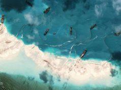 Mischief Reef dredging