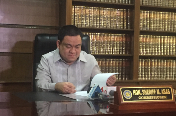 Comelec welcomes Abas as new poll chief