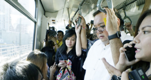 Roque rides MRT3
