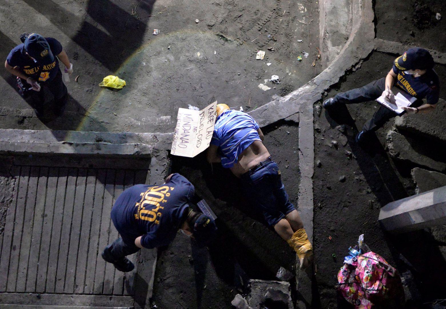 United States 'optimistic' over dip in Philippines extrajudicial deaths