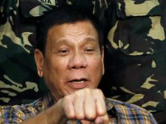 duterte fist bump with troops