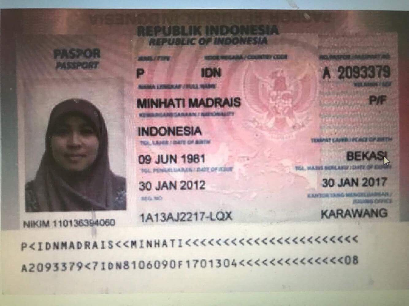 Omar Maute's Indonesian wife arrested in Iligan