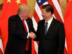 U.S. President Donald Trump and China's President Xi Jinping Interaksyon