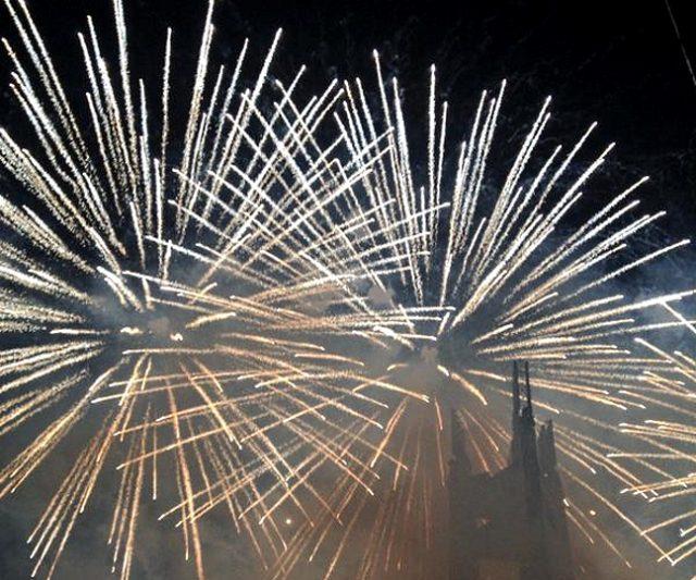 Fireworks on New Year Interaksyon
