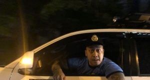 Fake Policeman Joseph Philip Lu Bautista
