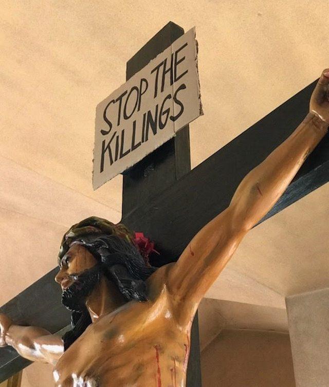 Stop_The_Killings_closeup2_Baclaran_Church