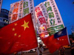 China Taiwan flags Interaksyon