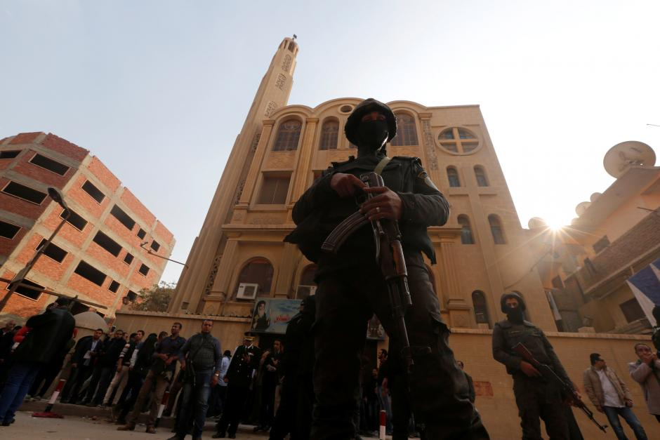 Ten people killed in shooting outside Cairo church