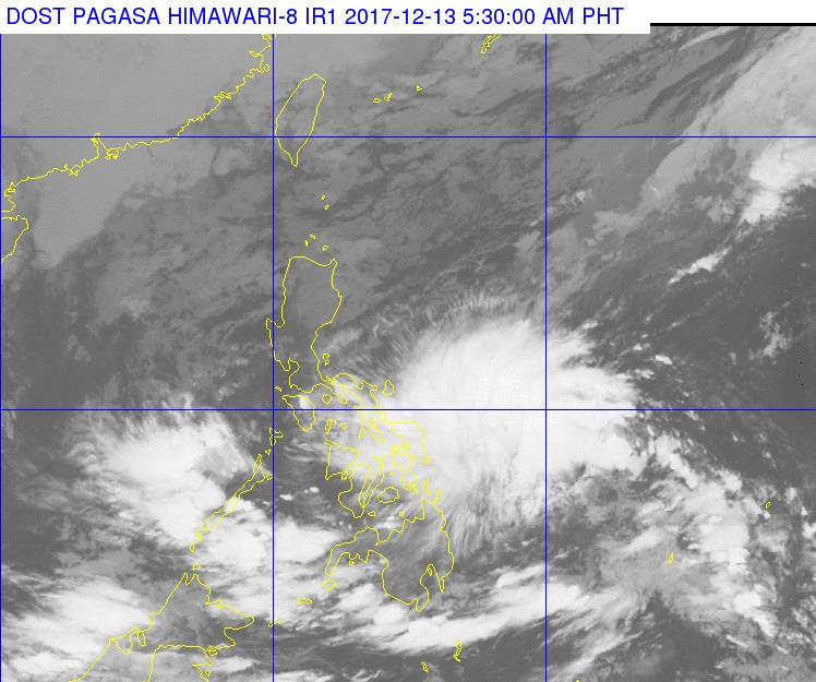 'Urduja' seen to intensify into tropical storm