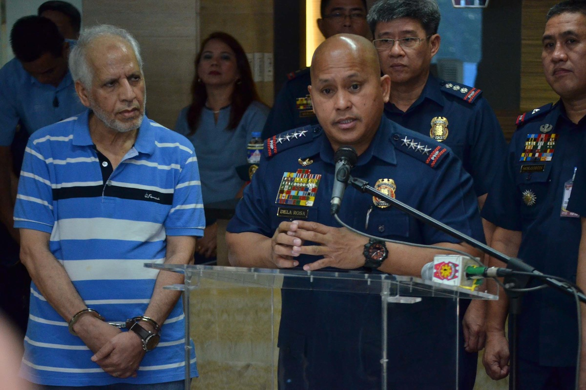 PNP arrests Hamas-linked Iraqi bomb maker in Pampanga