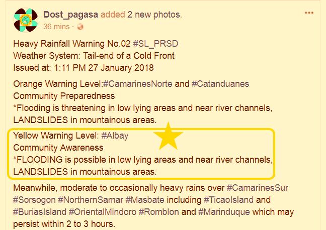 PAGASA_rainfall_warning_Albay_Cam