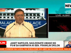 Roque_on_Napoles_Drilon_2010_poll_funding_News5grab